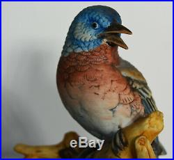 11 Vintage Scarce Porcelain Statue Andrea Sadek Blue Birds Home Decor
