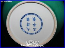 13 China Enamel Color Porcelain mandarin duck Bird Flower Pot Bottle Vase
