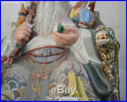 19 Color Porcelain Dragon Crane Bird Kid Longevity God Man Wife Shouxing Pair