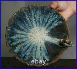 7.2 Old Chinese Dynasty Palace Kiln Porcelain Phoenix Bird Head Bowl Bowls