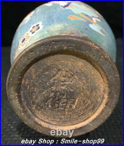 9 Song Dynasty Jian Kiln Porcelain Color Porcelain Beauty Kids Bottle Vase Pair