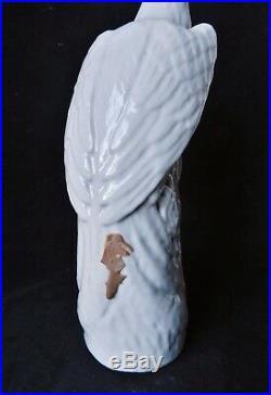Antique 19thC Chinese Blanc de Chine Pheasant Bird Statue Porcelain Qing