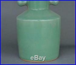 Antique Chinese Ru kiln porcelain bird head statue Zun Cup Bottle Pot Vase Jar
