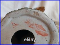 Antique Vintage Multi-Color Porcelain Pottery PARROT Figurine 10