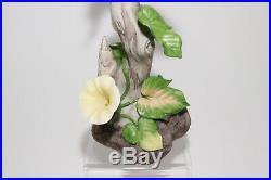 Boehm Porcelain Indigo Bunting 400 33 Bird Figurine Statue USA Vintage