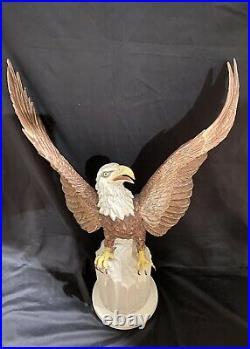 Boehm Porcelain The Constitution Eagle Statue