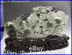 China Dehua Porcelain Wealth Golden Toad Ruyi Ru Yi Kid Child Magpie Bird Statue