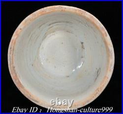 China White Blue Porcelain Flower Oil Lamp CandlesticK Vase Holder Pair