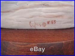 Cybis Skylark Bird Bisque Porcelain Sculpture Statue Figurine Signed Cybis #165