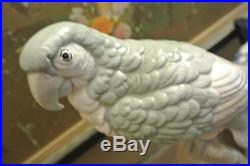 Dana Collection By Shafford Vintage Ceramic Parrot Figurine Statue