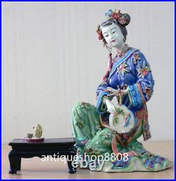 Dream Of The Red Chamber Oriental Great Beauty Porcelain ceramic Lady Figurine