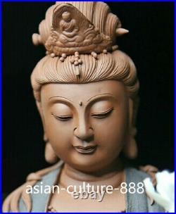 Duhua Pottery Porcelain Free Kwan-yin guanyin Avalokiteshvara Buddha Goddess St