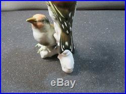 Ens porcelain statue birds