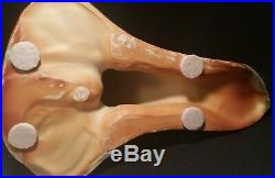 IBIS sea bird vtg porcelain sculpture statue celadon ox blood studio art pottery
