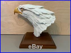 Kaiser W Germany The Presidential Eagle Porcelain Statue Tagliariol Tay Folk Art