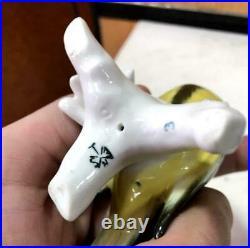 Karl Ens Rare Germany Antique Vintage Porcelain Statue Figurine Bird Marked 3.9