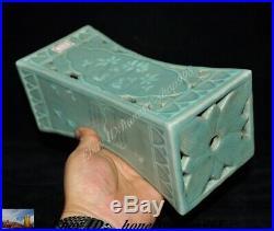 Old China Korea Koryo Porcelain Glaze Crane bird TCM Pulse pillow Vein Occipital