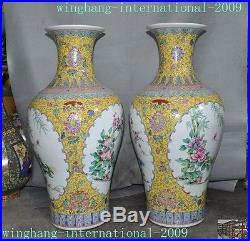 Old China Wucai porcelain dynasty flower bird Zun Cup Bottle Pot Vase Jar Statue