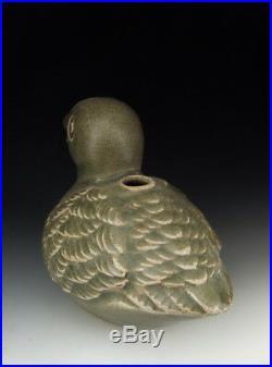 One Nice Chinese Antique Ru Ware Porcelain Bird Statue