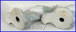 Pair 17 Chinoiserie Palm Beach Regency Chinese Phoenix Porcelain Birds Statues