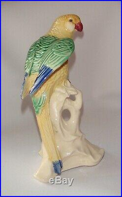 Parrot Vintage Chinese Porcelain Figurine Statue China