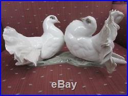 Rosenthal Heidenreich Pair Dove Porcelain Figurine Statue
