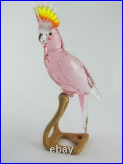 Swarovski $925 Crystal RED COCKATOO Paradise Birds Figurine Statue NEW 0718565