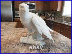 Vintage Kaiser German Porcelain Eagle Figure Statue 11 1/2 x 17 1/2