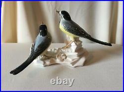Vintage Karl Ens Volkstedt of Germany Porcelian Figurine of Birds with Sticker
