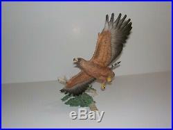 Vintage LENOX WINGS OF POWER Smithsonian Porcelain Bird Figure Statue 1993